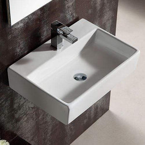 Elroy Vitreous China Wall-Mount Bathroom Sink