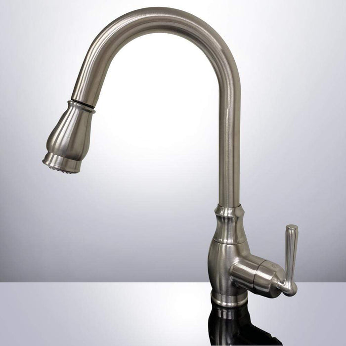 Farmington Single-Hole Pull-Down Kitchen Faucet