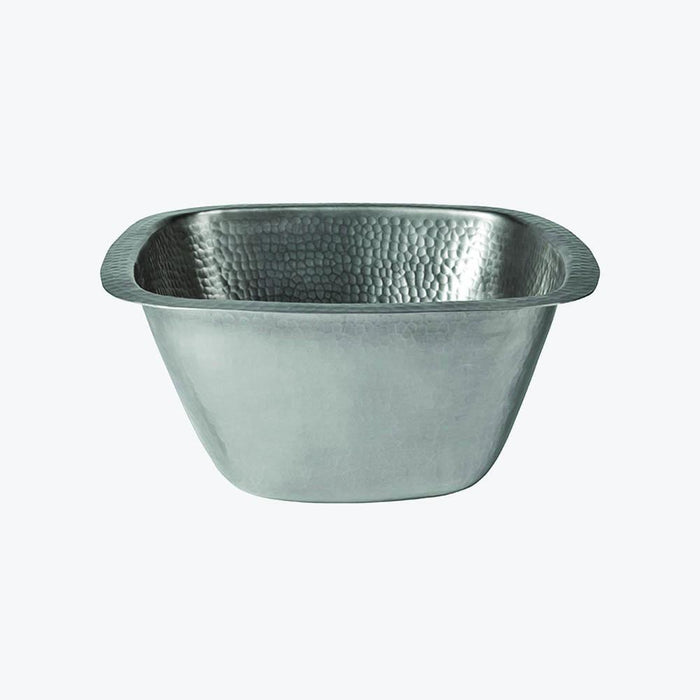 Finrow Pewter-Plated Copper Bar Sink