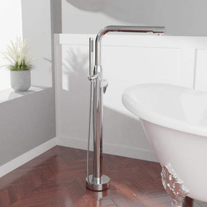 Frenton Freestanding Tub Faucet with Hand Shower