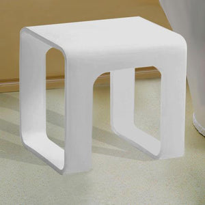 Gallatin Resin Bath Stool
