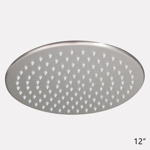 Gates Round Rainfall Shower Head