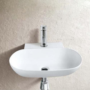 Goodar Vitreous China Wall-Mount Bathroom Sink