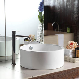 Gowan Vitreous China Round Vessel Sink