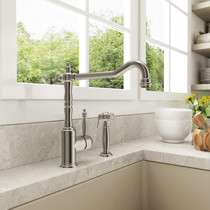 Grasse Kitchen Faucet with Side Spray