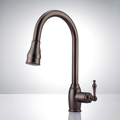Hawes Single-Hole Pull-Down Kitchen Faucet