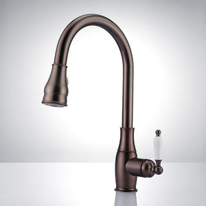 Hayes Single-Hole Pull-Down Kitchen Faucet