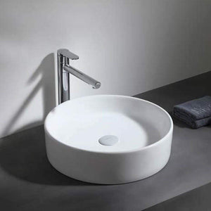 Holmen Vitreous China Round Vessel Sink
