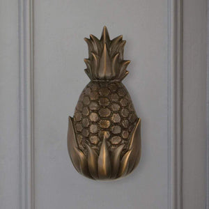 Hospitality Pineapple Door Knocker - Large