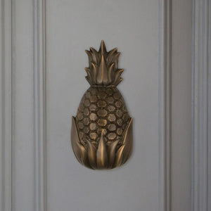 Hospitality Pineapple Door Knocker - Small