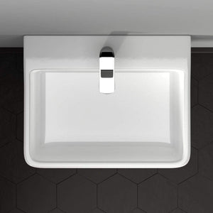 Hudson 100 Vitreous China Pedestal Sink