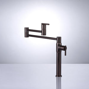 Huron Deck-Mount Retractable Pot Filler