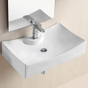 Irma Vitreous China Wall-Mount Bathroom Sink