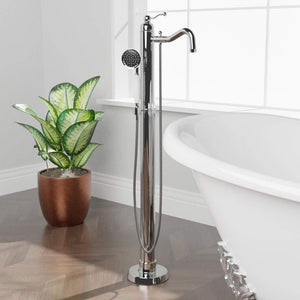 Kendall Freestanding Tub Faucet with Hand Shower