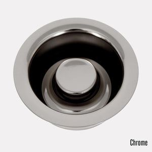 Kitchen Disposer Flange and Stopper - 3 1/2""