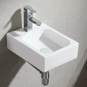 Koyl Vitreous China Wall-Mount Bathroom Sink