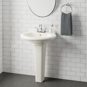 Lachine Vitreous China Pedestal Sink