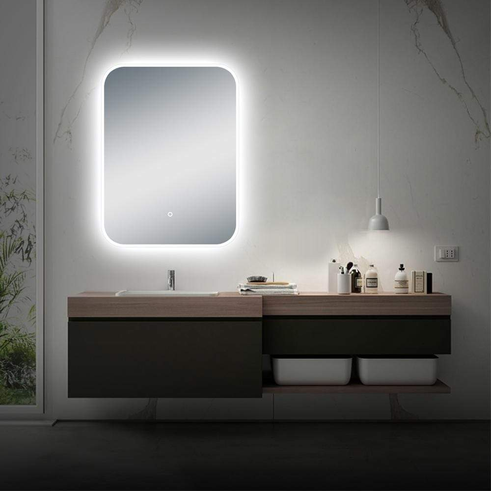 Landais 24 Horizontal Wall Mounted Led Modern And Contemporary Bathro Magnus Home Products