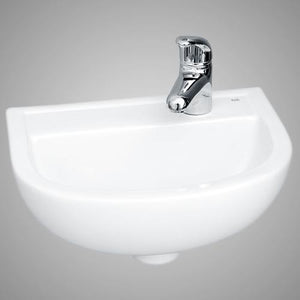 Landrum Vitreous China Wall-Mount Sink