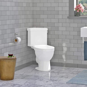 Lawen Single-Flush Two-Piece Corner Toilet - Comfort Height