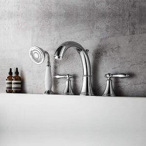Lazio Roman Tub Faucet with Hand-Held Shower