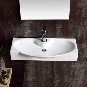 Libby Vitreous China Wall-Mount Bathroom Sink