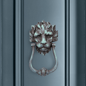 Lion Design Door Knocker