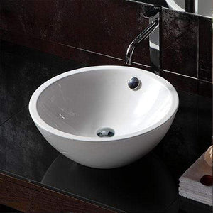 Lomira Vitreous China Round Vessel Sink