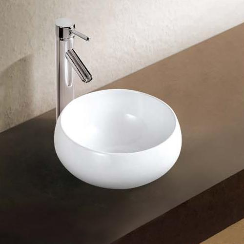 Manton Vitreous China Round Vessel Sink
