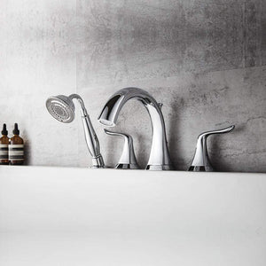 Maremmano Roman Tub Faucet with Hand-Held Shower