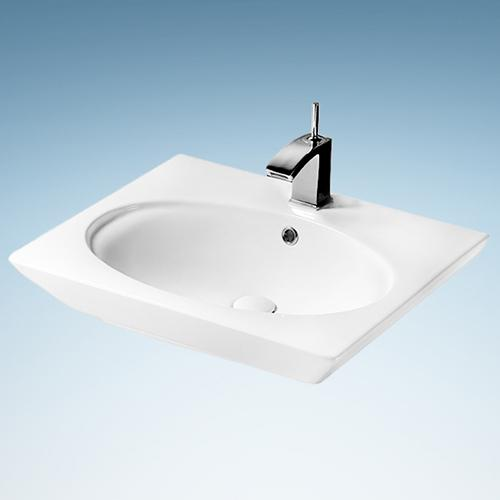 Marmet Fireclay Oval Vessel Sink