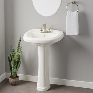 Mashek Vitreous China Pedestal Sink