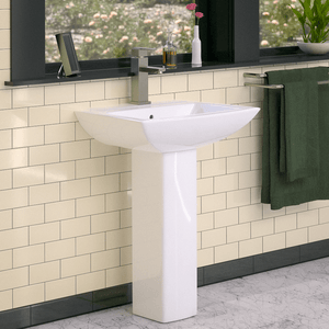 Mauston Vitreous China Pedestal Sink