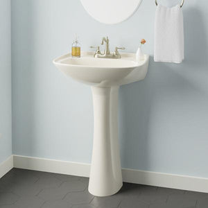 Metter Vitreous China Pedestal Sink