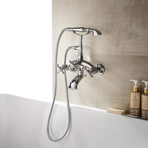 Moyle Adjustable-Center Wall-Mount Tub Faucet