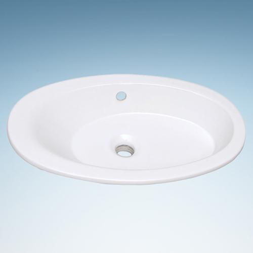 Myra Vitreous China Drop-In Sink