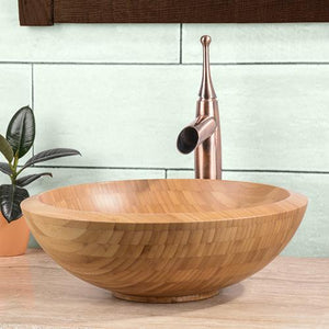 Nephi Bamboo Vessel Sink