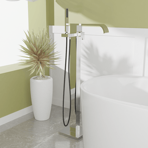 Newbern Freestanding Tub Faucet with Hand Shower