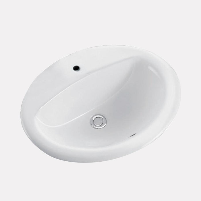 Norma Vitreous China Drop-In Sink