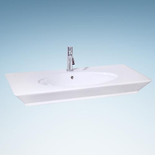 Ohley Vitreous China Oval Vessel Sink