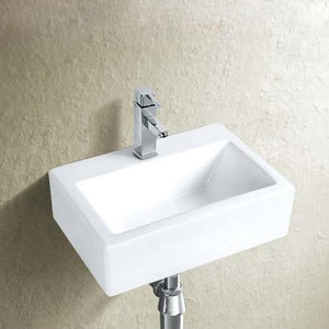 Omena Vitreous China Wall-Mount Bathroom Sink