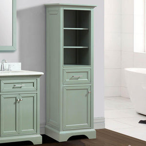 Packard Linen Storage Cabinet - Sea Green