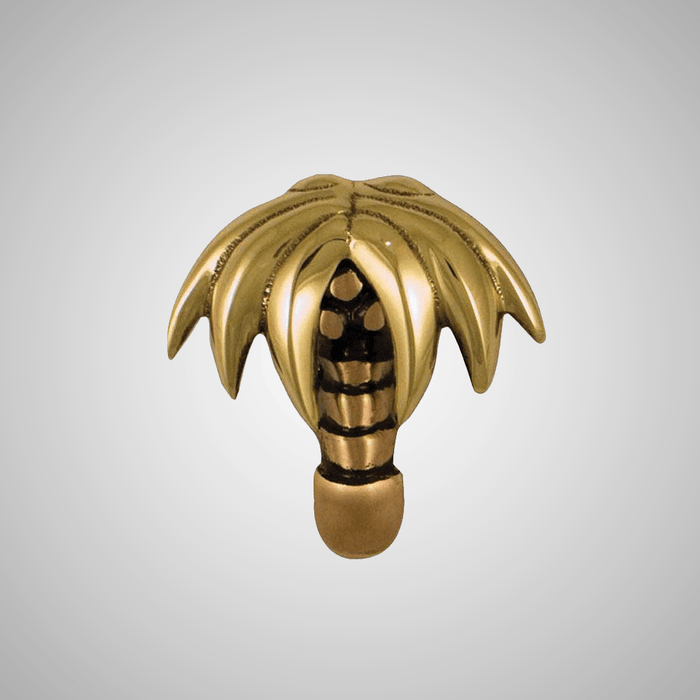 Palm Tree Doorbell Ringer - Bronze