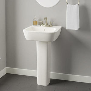 Parma 200 Vitreous China Pedestal Sink