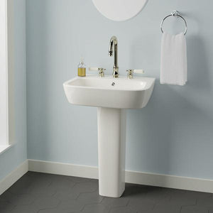 Parma 300 Vitreous China Pedestal Sink