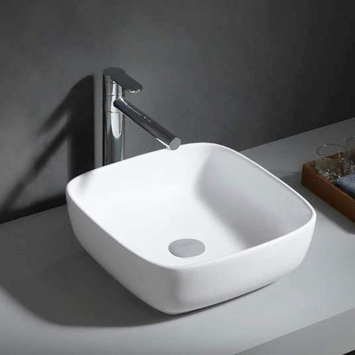 Pennan Vitreous China Square Vessel Sink
