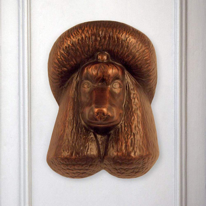 Poodle Door Knocker