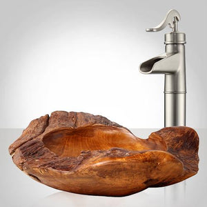 Pryor Teak Root Vessel Sink