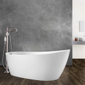 Radnor Acrylic Slipper Freestanding Tub With Integral Drain