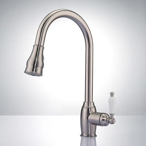 Reeth Single-Hole Pull-Down Kitchen Faucet
